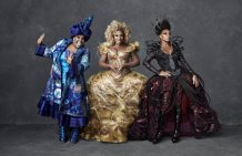 THE WIZ LIVE! -- Season: 2015 -- Pictured: (l-r) Amber Riley as Addapearle, Uzo Aduba as Glinda, Mary J. Blige as Evillene -- (Photo by: Paul Gilmore/NBC)